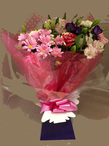 Seasonal Summer Hand Tied Bouquet - Alan Brown Flowers Leeds