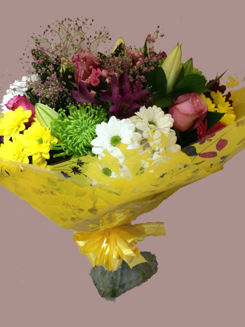 Summer Flowers Bouquet – Alan Brown Flowers