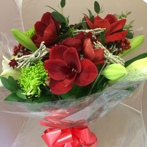 Christmas Bouquet Alternative - Alan Brown Flowers Leeds