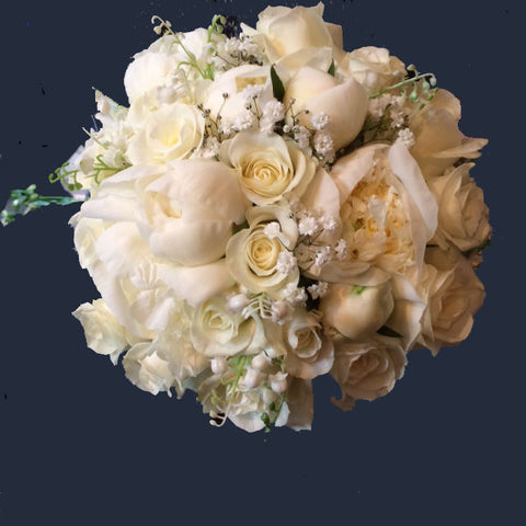 Cream Wedding Bouquets