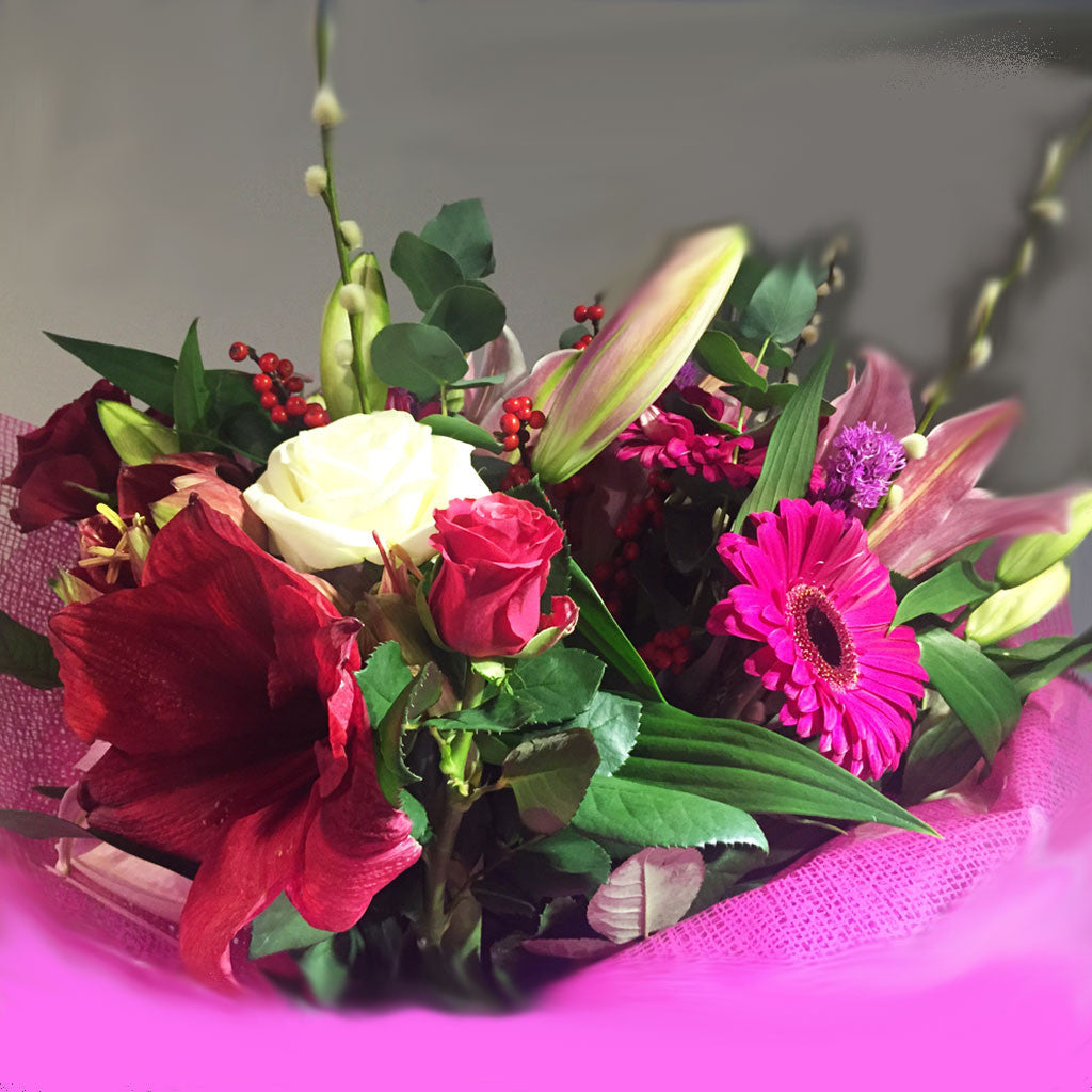 Seasonal Hand Tied - Alan Brown Flowers