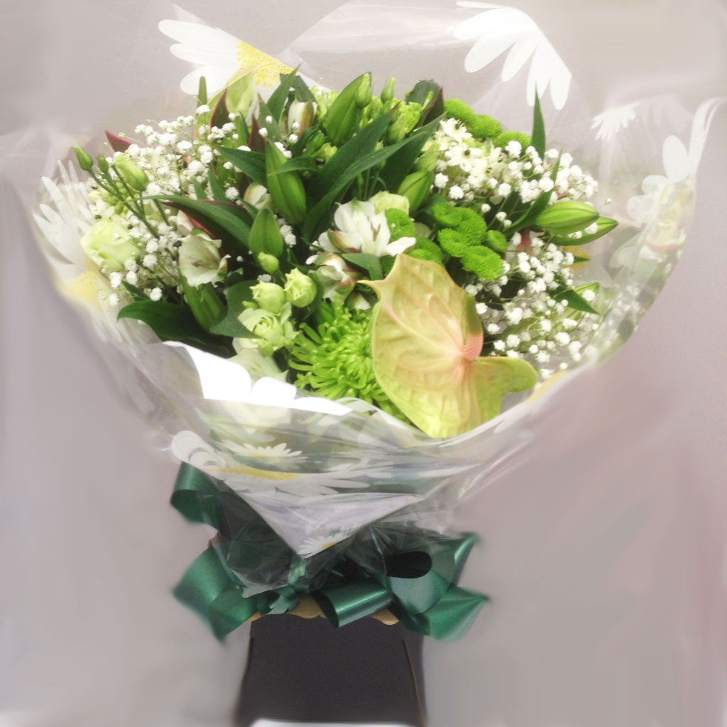 Seasonal Elegant Hand Tied Bouquet - Alan Brown Flowers Leeds