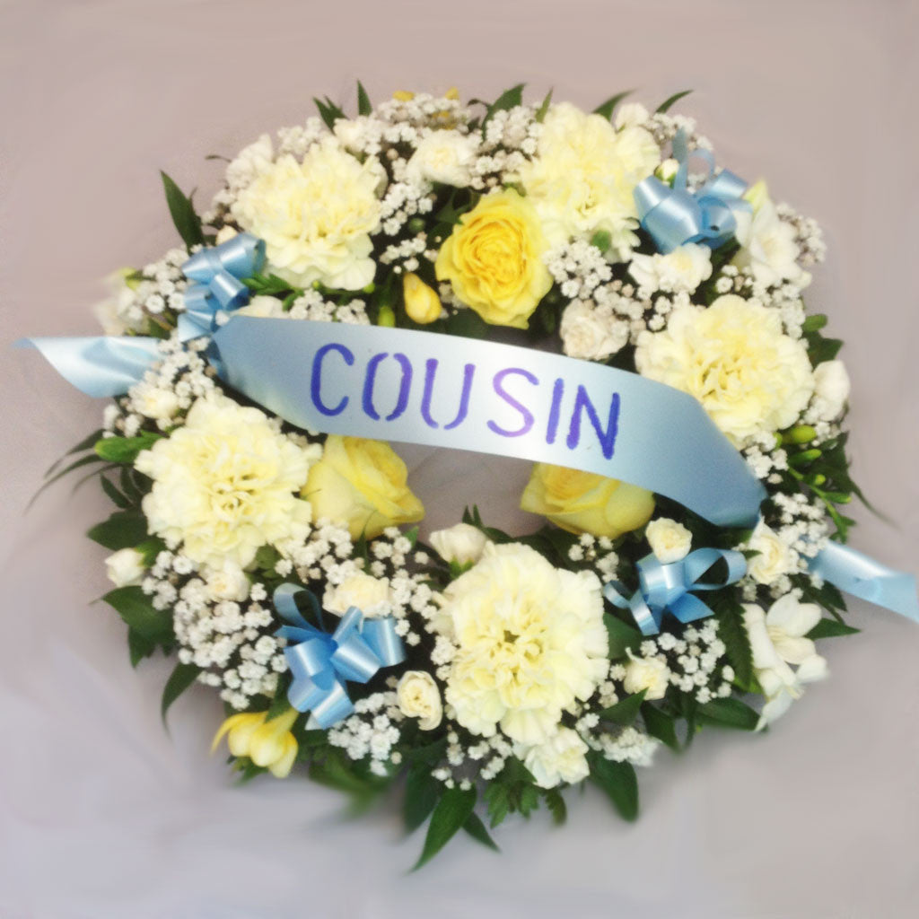 Tribute Wreath - Alan Brown Flowers