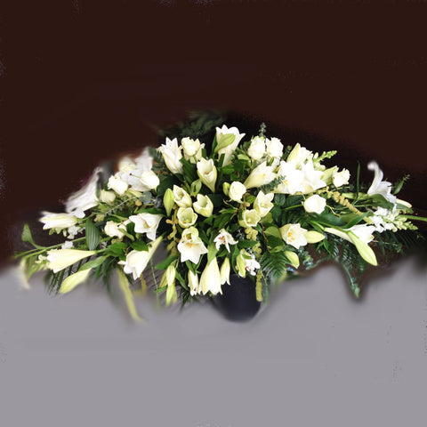 Tribute Lily Arrangement - Alan Brown Flowers