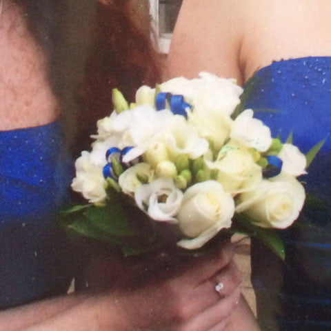 Bridesmaids Bouquet - Alan Brown Flowers Leeds