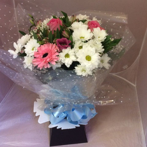 Winter Hand Tied Bouquet - Alan Brown Flowers Leeds