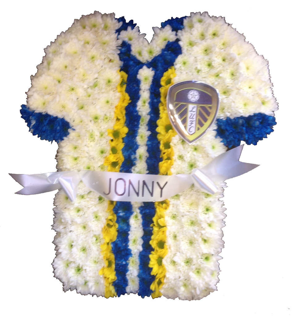 Sports Shirt Tribute - Alan Brown Flowers Leeds