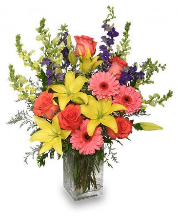 Spring Flowers Bouquet - Alan Brown Flowers