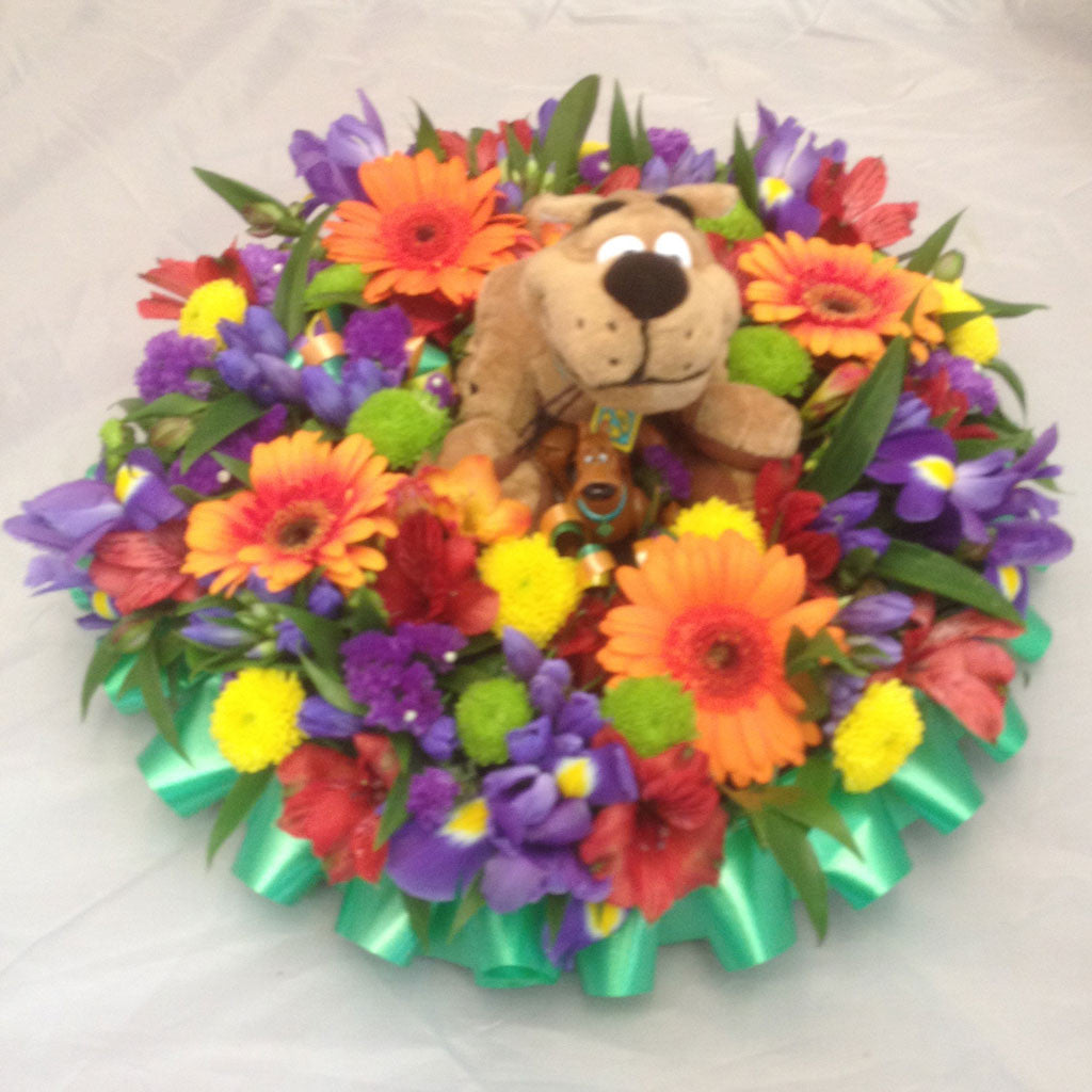 tribute flowers scooby doo abflowers leeds