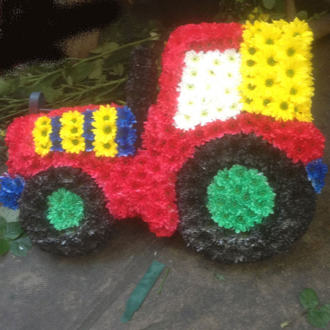 Tractor Tribute - Alan Brown Flowers