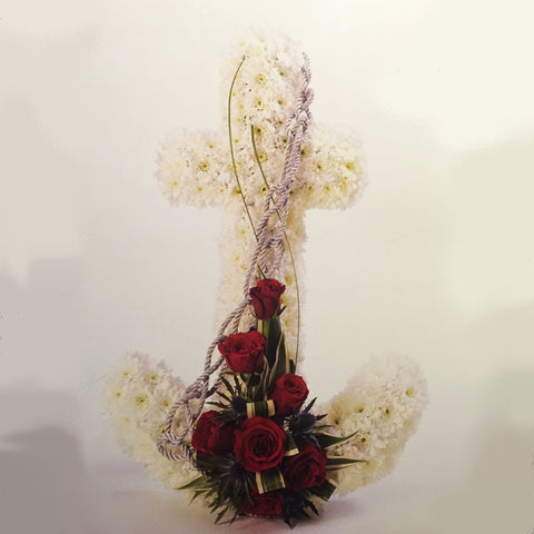 Anchor tribute - Alan Brown Flowers