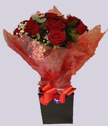 Valentine Dozen Red Roses - Alan Brown Flowers