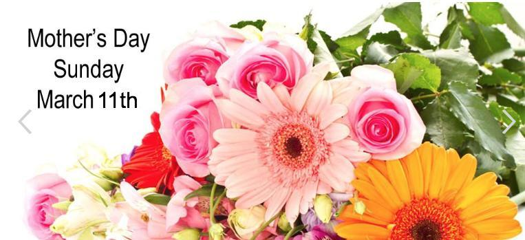 Flowers for Mothers Day Mothering Sunday
