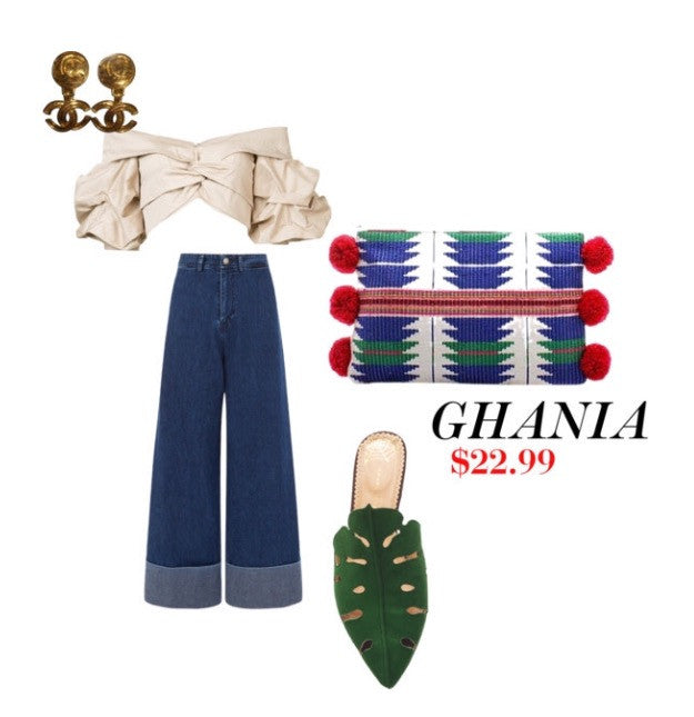 Slay this Summer with the GHANIA bag!