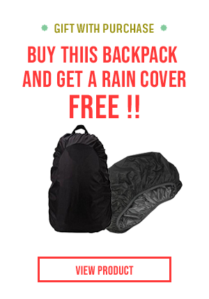 Free Rain Cover With Bag