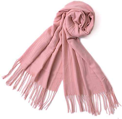 Winter Long Wool Soft Warm Tassel Scarves for Women Men Ladies - handmade items, shopping , gifts, souvenir