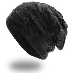 Winter Hat for Men Women Oversized Warm Knit Hats Slouch Beanie