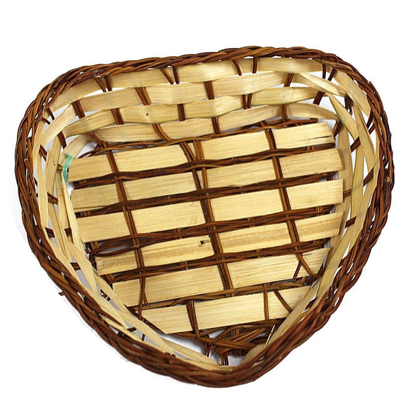 Heart Shape Baskets 15 x 17 x 5 cm - handmade items, shopping , gifts, souvenir