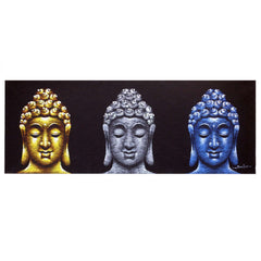 Buddha Painting Three Heads