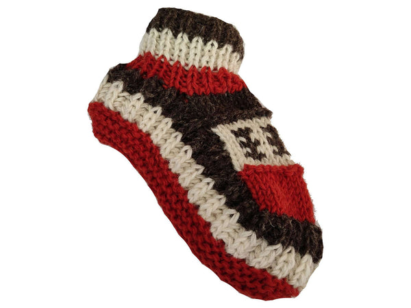 Sherpa Indoor Slipper Woolen Socks - Alexis - handmade items, shopping , gifts, souvenir