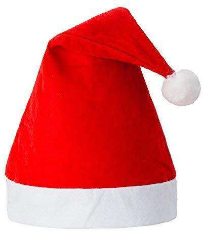 Pack of 12 Non-woven cloth Santa Hat Christmas - handmade items, shopping , gifts, souvenir