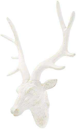 Stag Deer Head Sculpture Wall Decoration Made From Resin With Bronze Finish - handmade items, shopping , gifts, souvenir