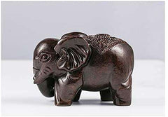 Elephant Wooden Statue Home Decoration