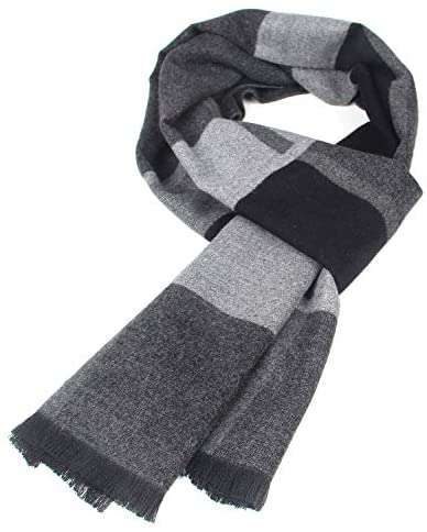 Mens Scarf Winter Cashmere Feel Scarves Long - handmade items, shopping , gifts, souvenir