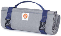 Ultralight Travel Yoga Mat with Attached Carrying Strap