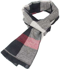 Mens Scarf Winter Cashmere Feel Scarves Long