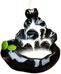 Backflow Incense Holder Censer Home Office Decoration