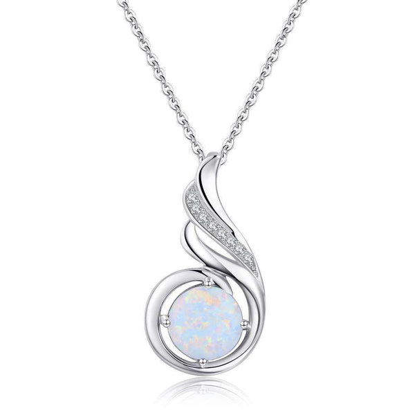 Sterling Silver Phoenix Princess Necklace
