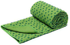 Yoga Mat Towels With Mesh Carrying Bag Quick Dry Non Slip Dot Grip