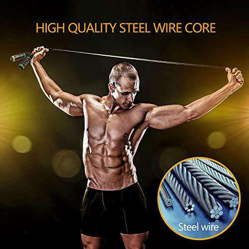Skipping Rope Speed Jump Soft Memory Foam Handle