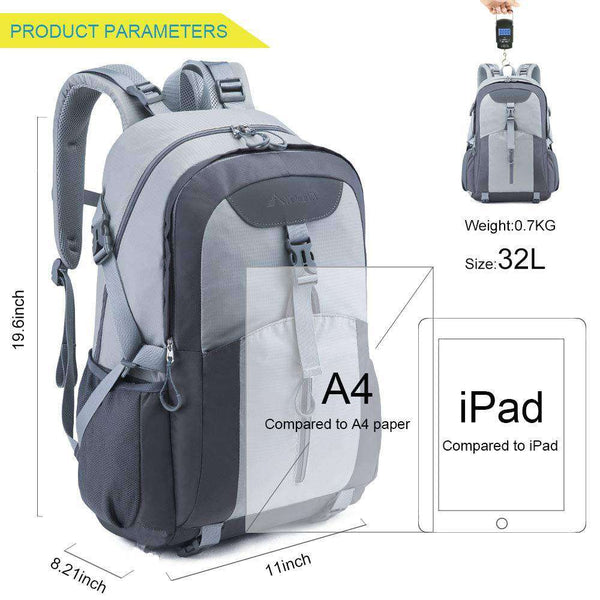 Casual Backpack Water Resistant