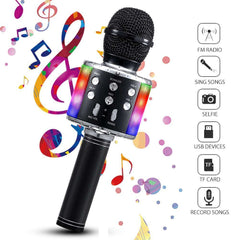Wireless Karaoke Microphone  Bluetooth Portable