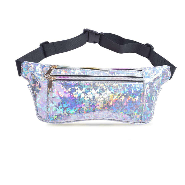 Holographic Waist Bag Fanny Pack for Women - handmade items, shopping , gifts, souvenir
