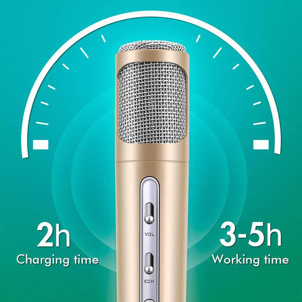Microphone for Kids Wireless Bluetooth Karaoke for Home Party Birthday Gifts - handmade items, shopping , gifts, souvenir