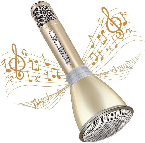 Microphone for Kids Wireless Bluetooth Karaoke for Home Party Birthday Gifts