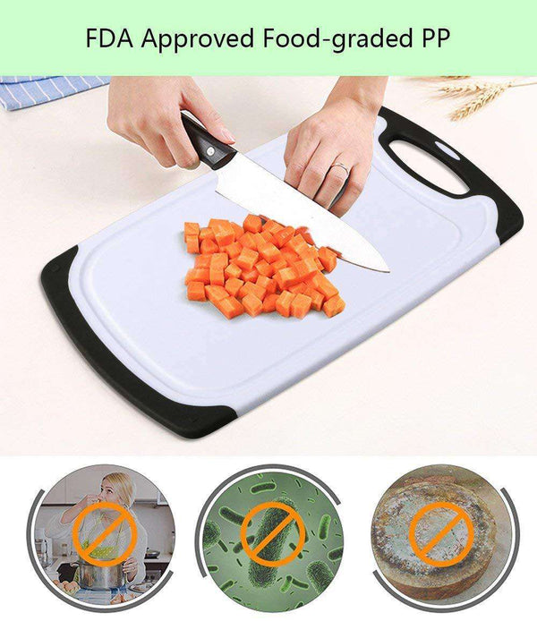 Plastic Chopping Board Set of 3 with Dishwasher Safe - handmade items, shopping , gifts, souvenir