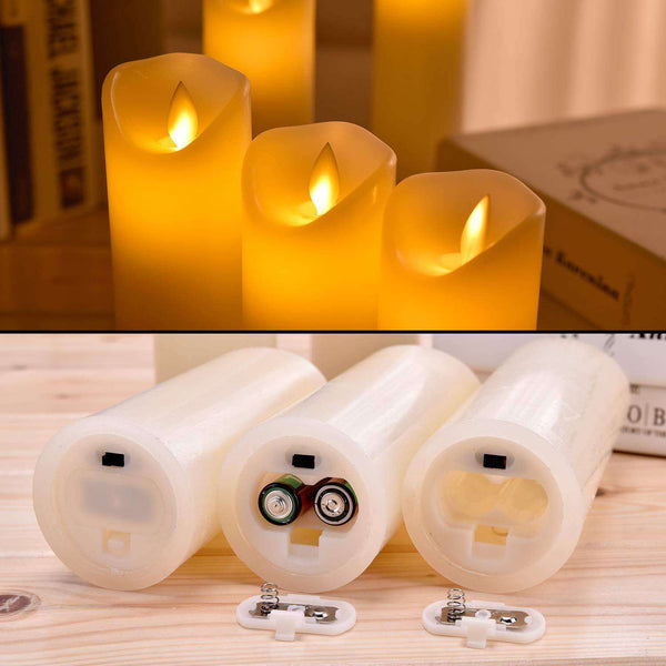 LED Flameless Candles - handmade items, shopping , gifts, souvenir