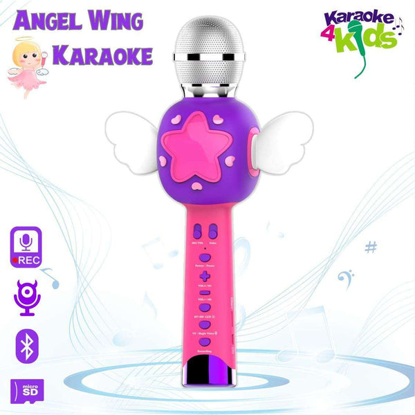 Angel Wing Kids Karaoke Microhpne