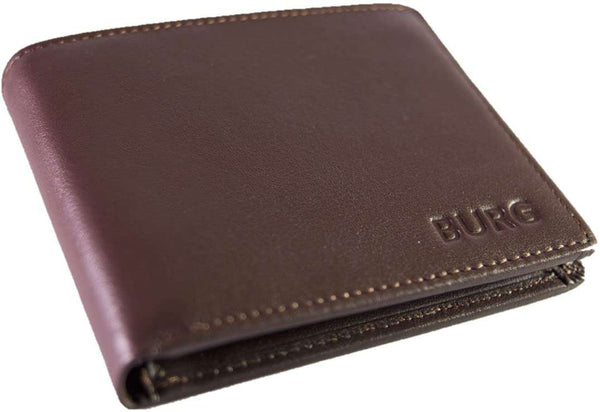 RFID Blocking Wallets For Men Genuine Leather Wallets With Contactless Card Protection