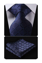 Men's Necktie & Pocket Square Set