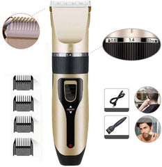 Hair Clippers for Men Hair Cutting Kit Electric Rechargeable Beard Trimmer Cordless Low Noise