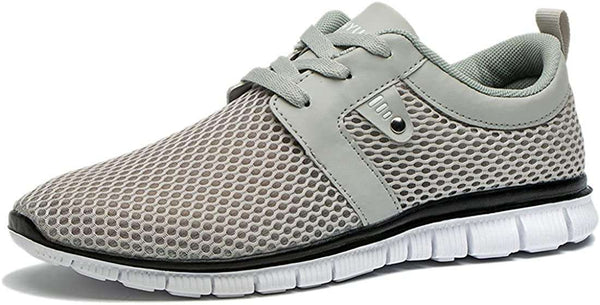Mens Trainers Casual Lightweight Breathable Low-Top Gym Shoe