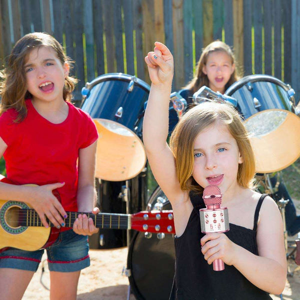 Karaoke Microphones for Kids Wireless Bluetooth - handmade items, shopping , gifts, souvenir