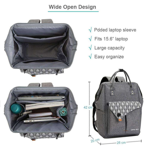 Laptop Rucksack 15.6 Inch Computer Backpack - handmade items, shopping , gifts, souvenir