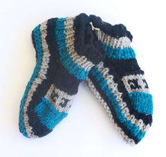 Sherpa Indoor Slipper Socks - Emma