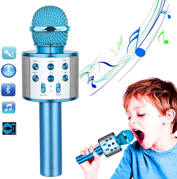 Kids Karaoke Microphone-Best Gift Toy - handmade items, shopping , gifts, souvenir